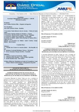 Assinatura Digital da última edição